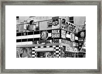 The Original Food Framed Print by John Rizzuto
