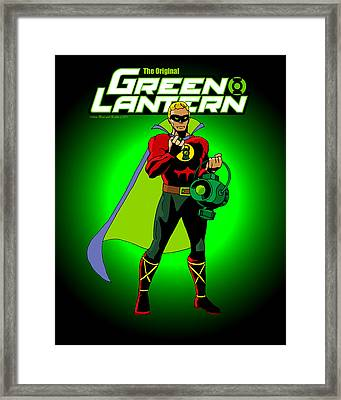The Original Green Lantern Framed Print