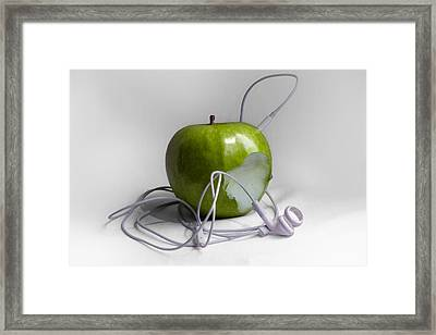 The Original Ipod Framed Print by Ian Hufton