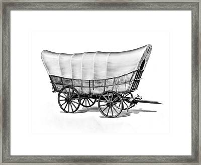 The Original Prarie Schooner Framed Print