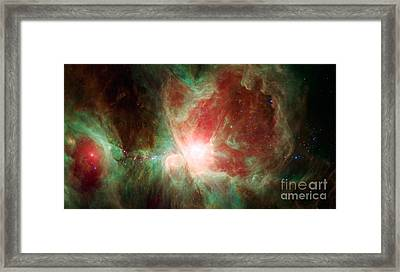 The Orion Nebula Framed Print by Science Source