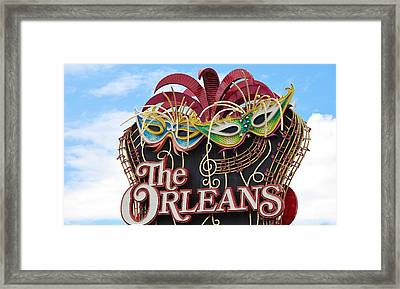 The Orleans Hotel Framed Print by Cynthia Guinn