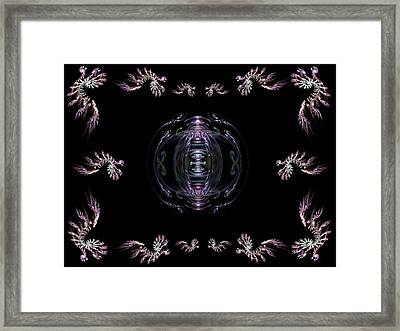 The Ornament II Framed Print by Ricky Kendall