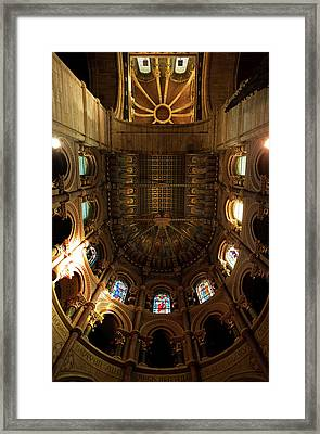 The Ornate Ceiling,st Finn Barres Framed Print by Panoramic Images