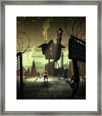 The Orphanage Framed Print by Kristina Vardazaryan