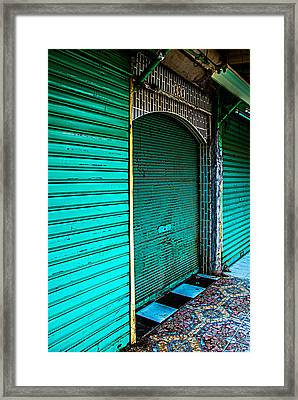 The Other Colors Of Marrakech Framed Print