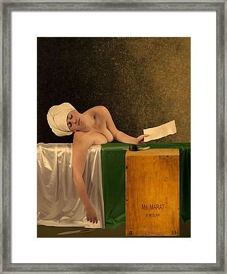 The Other Marat Framed Print