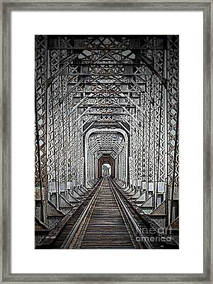 Framed Print featuring the photograph The Other Side  by Barbara Chichester