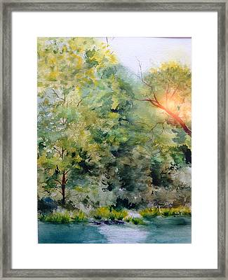 The Other Side Framed Print by Elaine Frances Moriarty