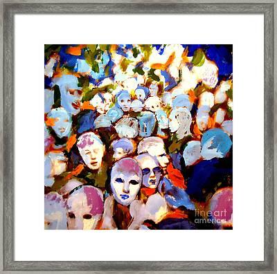 The Other Side Framed Print by Helena Wierzbicki