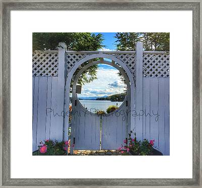 The Other Side Framed Print by John Adams