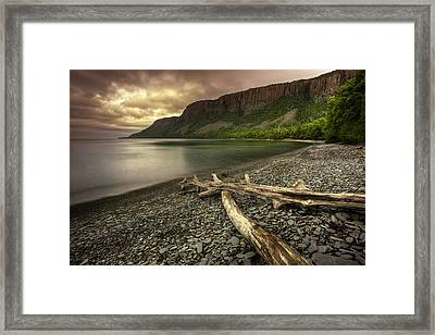 The Other Side Of Giant Framed Print by Jakub Sisak