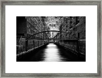 The Other Side Of Hamburg Framed Print