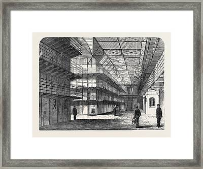The Outbreak Among The Convicts At Chatham Interior Of St Framed Print