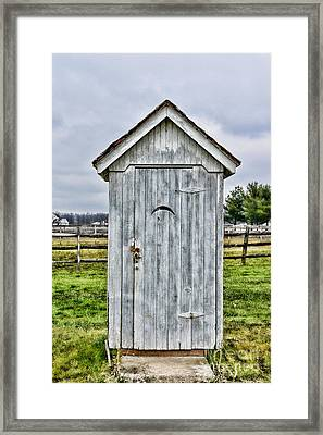 The Outhouse - 2 Framed Print