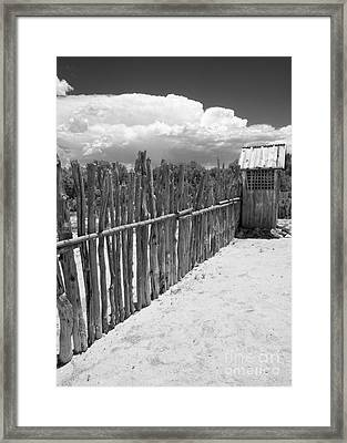 The Outhouse Framed Print by Roselynne Broussard