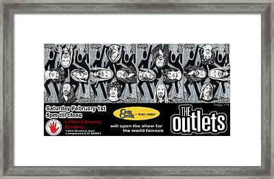 the OUTLETS Framed Print