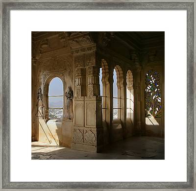 The Outlook For The Weekend Framed Print by A Rey