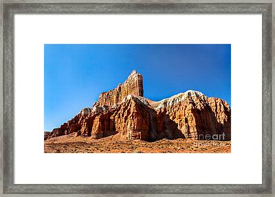 The Outpost Rock Framed Print