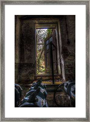 The Outside Framed Print