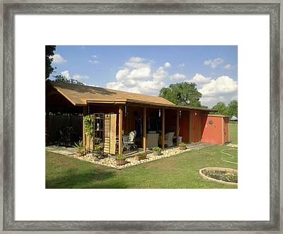 The Outside Of My Studio Workshop Framed Print