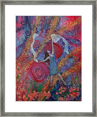 The Overcoming Worshipper Framed Print by Cassandra Donnelly