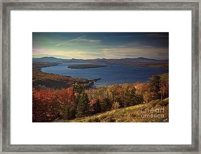The Overlook Framed Print by Alana Ranney