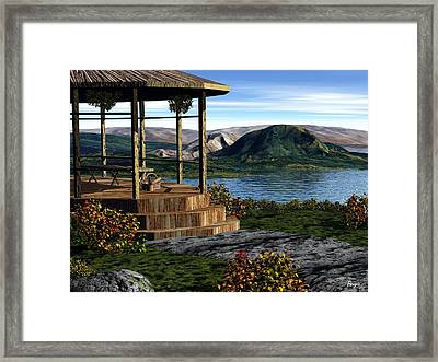 The Overlook Framed Print by John Pangia
