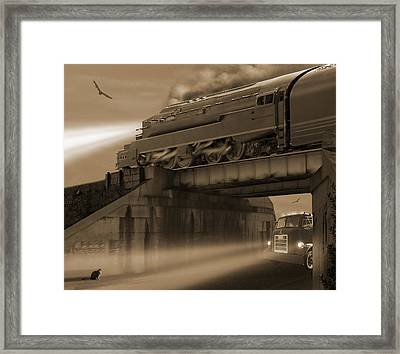 The Overpass 2 Framed Print by Mike McGlothlen