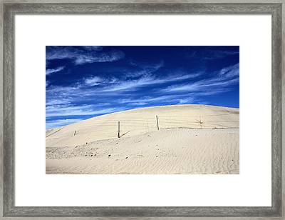 The Overtaking Framed Print