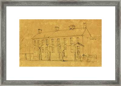 The Owens House Framed Print by Quint Lox