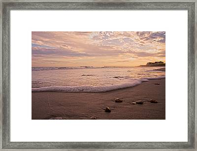 The Pace Of Topsail Framed Print
