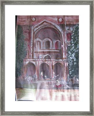 The Pages Of My Heart Framed Print by Vikram Singh