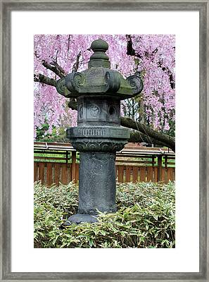 The Pagoda Framed Print by JC Findley