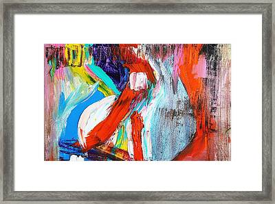 The Pain Of Heartbreak Framed Print