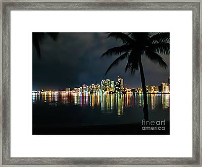 The Painted City Framed Print by Rene Triay Photography