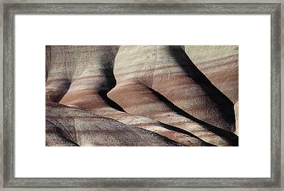 The Painted Hills 2 Framed Print