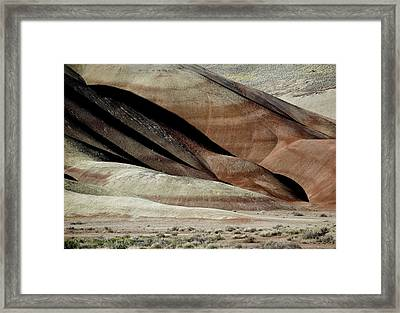 The Painted Hills 3 Framed Print