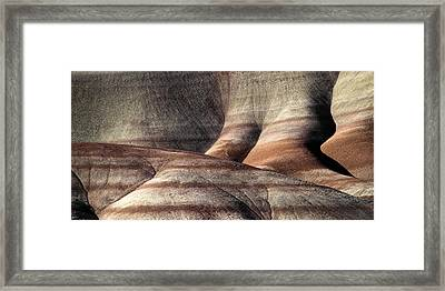 The Painted Hills 4 Framed Print
