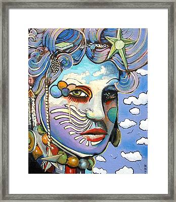 The Painted Lady Framed Print by James  Lalepop Becker