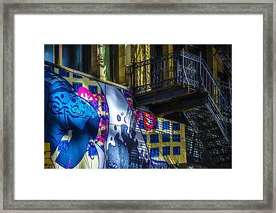 The Painted Stair Framed Print