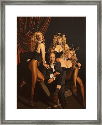The Painter And His Graces Framed Print by Sierk Van Meeuwen