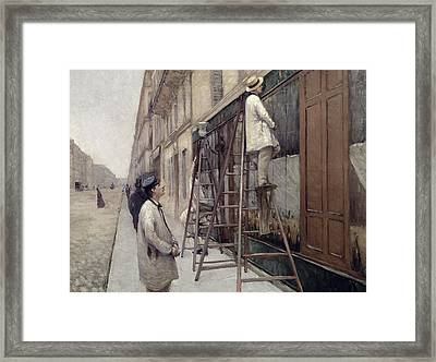 The Painters Framed Print