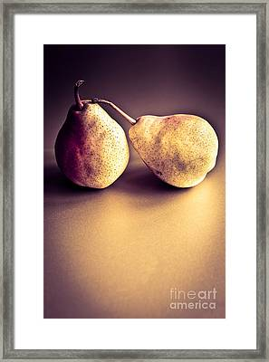 The Pair Framed Print by Jan Bickerton
