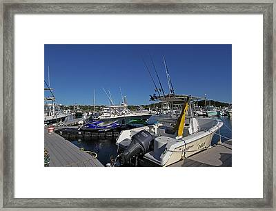 The Pala In Sesuit Harbor On Cape Cod Framed Print by Juergen Roth