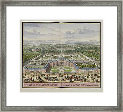 The Palace At Loo Framed Print by British Library