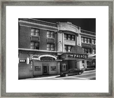 The Palace Framed Print by Coby Cooper