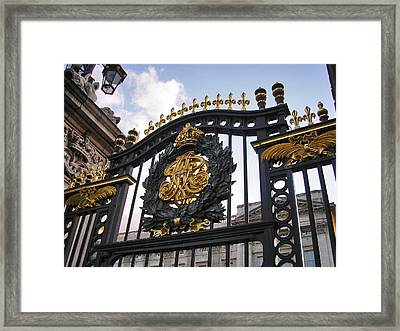 The Palace Gates  Framed Print by Connie Handscomb