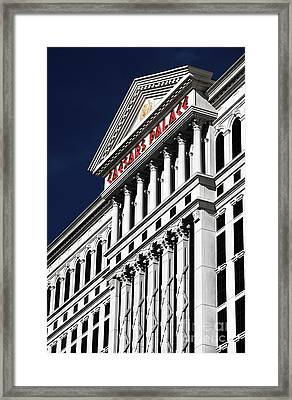 The Palace Of Caesar Framed Print by John Rizzuto