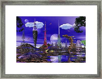 Framed Print featuring the photograph The Palace Of Prax by Mark Blauhoefer